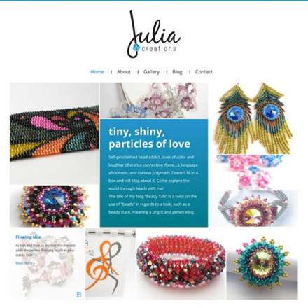 Julia Creations Website
